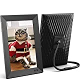 Nixplay Smart Digital Picture Frame 10.1 Inch, Share Moments Instantly via E-Mail or App