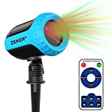 FYYZY Laser Projector Lights 12 Patterns Outdoor Waterproof Light with RF Remote Control Fits Christmas Party Holiday