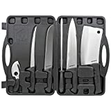 Meyerco Game Processing Set, for Field Dressing Deer and Other Game, Durable Case, 6 Piece