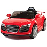 BIG TOYS DIRECT Kids 12V Ride On Car W/ MP3 Electric Battery Power Remote Control RC Red