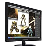 Sceptre E275W-1920 27' 75Hz Monitor HDMI VGA Build-in Speakers, Metal Black