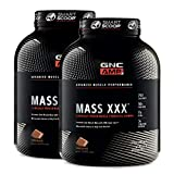 GNC AMP Mass XXX - Chocolate, 6.2lbs, 50 Grams of Protein to Increase Lean Muscle