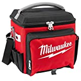 Milwaukee Electric Tool 48-22-8250 Sided Jobsite Cooler, Polyester, 11.1' x 13.77' 14.96' H, 3, 5 Pockets