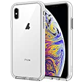 JETech Case for Apple iPhone Xs Max 6.5-Inch x max, Shockproof Bumper Cover (HD Clear)