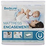 Bedsure Bed Bug Proof Waterproof Mattress Encasement Twin XL - Extra Long Zippered Mattress Protector Hypoallergenic Up to 14 inches