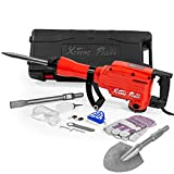 XtremepowerUS Heavy Duty Electric Demolition Jack Hammer, Concrete Breaker (2200Watt w/shovel)