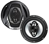 BOSS Audio Systems NX654 Car Speakers - 400 Watts Per Pair, 200 Watts Each, 6.5 Inch, Full Range, 4 Way, Sold in Pairs