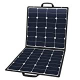 SUAOKI Solar Charger 80W Portable Solar Panel Foldable Portable Generator/Goal Zero Yeti Power Station/ROCKPALS Generator/Jackery/Enkeeo/Webetop/Paxcess Battery Pack and Laptops,Smartphone