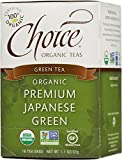 Choice Organic Teas Green Tea, 16 Tea Bags, Premium Japanese Green