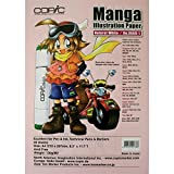 Copic Markers 8.3' by 11.7-Inch Manga Nat White, 30 Sheets