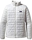Patagonia Women's Nano Puff Insulated Jacket (Medium, Birch White)