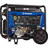 Westinghouse WGen7500 Portable Generator with Remote Electric Start 7500 Rated Watts & 9500 Peak Watts, Gas Powered, CARB Compliant, Transfer Switch Ready