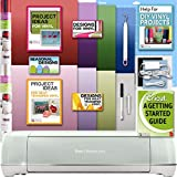 Cricut Explore Air 2 Machine Bundle With Beginner Guide, Iron On Foil, 12 x 12 Inch Mat, Weeder Tools, Designs