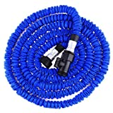 Rujjshop 50FT Flexible Expandable Garden Water Hose EU/US Standard