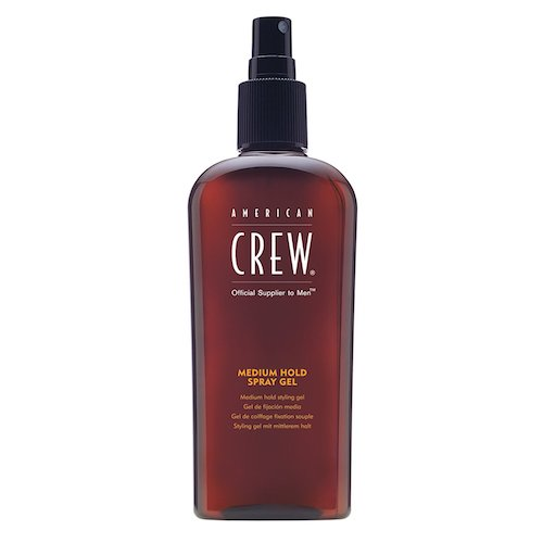 4. American Crew Spray Gel for Men, Medium Hold 8.45fl oz