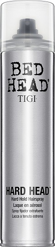 1. TIGI Bed Head Hard Head Hair Spray, 10.6 Ounce