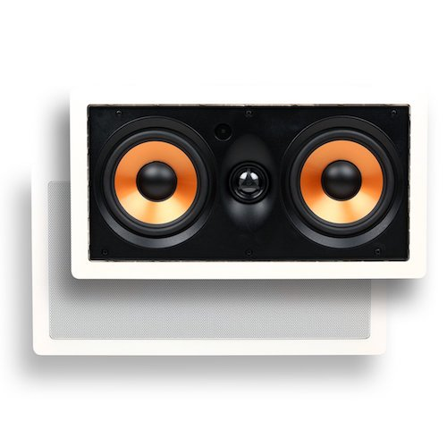4. Micca M-CS Dual 5.25 Inch 2-Way MTM In-Wall Speaker with Pivoting 1