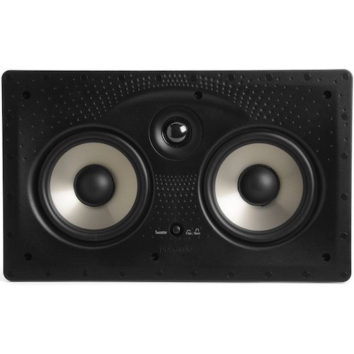 2. Polk Audio 255C-RT In-wall / In-ceiling center channel speaker