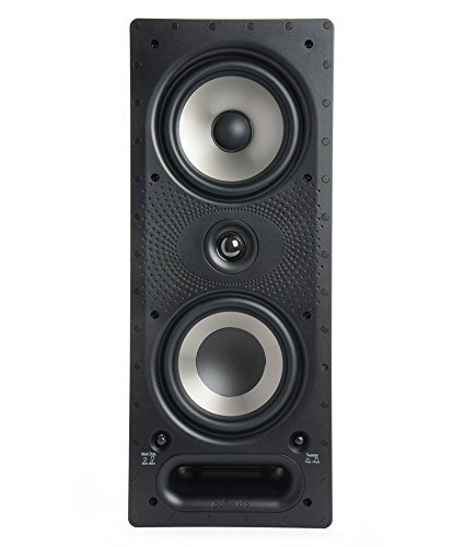 9. Polk Audio 265RT (Ea) 3-way In-wall Speaker