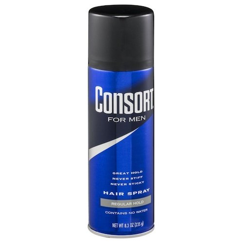8. Consort For Men Hair Spray Regular Hold 8.3 oz (Pack of 3)