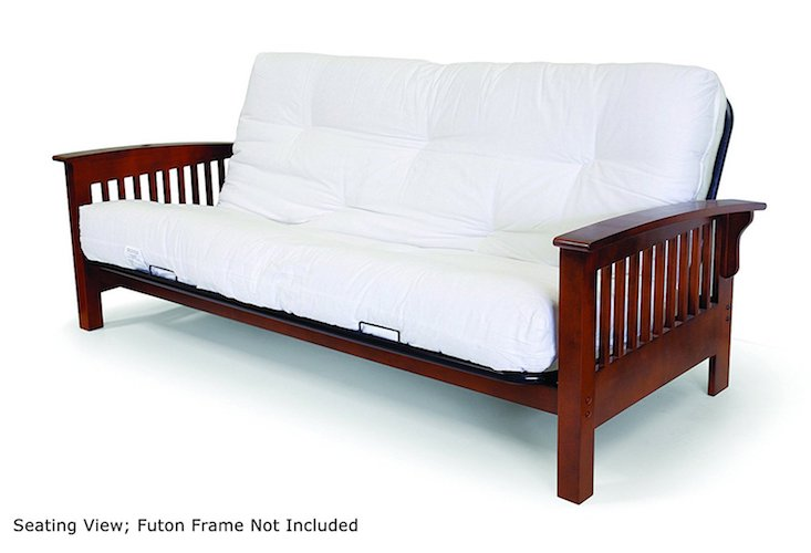 4. Artiva USA Home Deluxe 8-Inch Futon Sofa Mattress