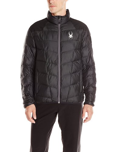 7. Spyder Men's Geared Synthetic Down Jacket