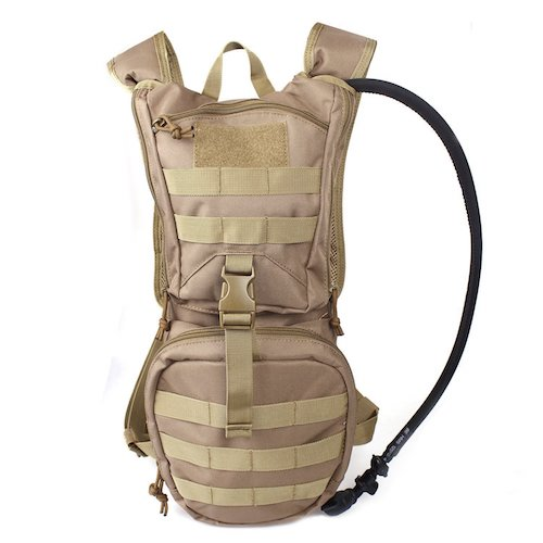 3. Tactical Hydration Pack Backpack 900D with 2.5L Bladder