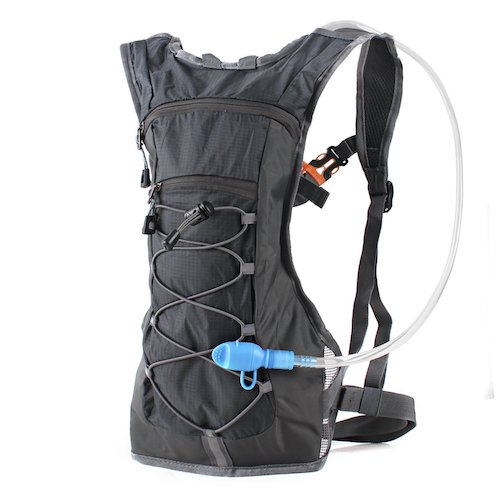 9. Hydration Pack Backpack with 70 oz 2L Water Bladder
