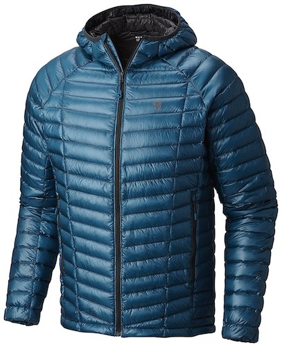 4. Mountain Hardwear Ghost Whisperer Down Hooded Jacket - Men's