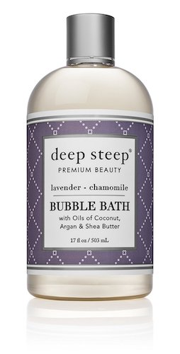 3. Deep Steep Bubble Bath, Lavender Chamomile, 17 Ounces