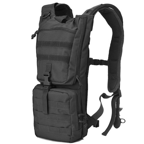 6. Tactical Hydration Pack Backpack with 2.5L Water Bladder