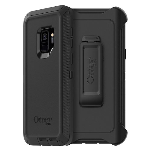3. OtterBox DEFENDER SERIES Case for Samsung Galaxy S9