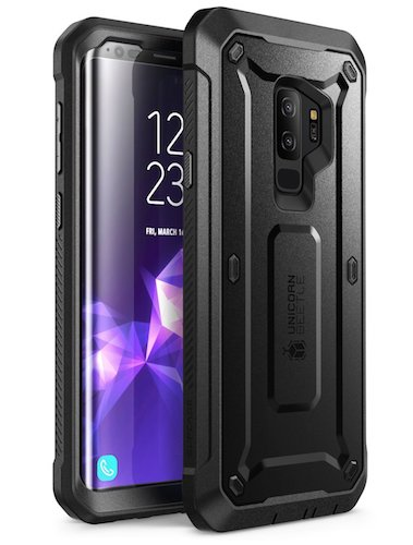 1. Samsung Galaxy S9+ Plus Case, SUPCASE Full-body Rugged Holster