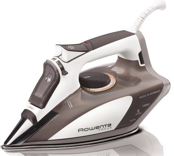 Best Clothes Steam Irons 7. Rowenta DW5080 Focus 1700-Watt Micro Steam Iron