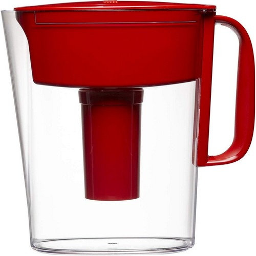 Best Pitcher Water Filters 9. Brita Small 5 Cup Metro Water Pitcher with Filter - BPA Free - Red