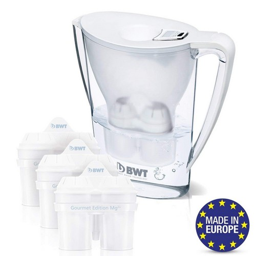 Best Pitcher Water Filters 7. BWT Premium Water Filter Pitcher & 3 Filters