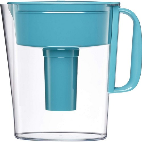 Best Pitcher Water Filters 4. Brita Small 5 Cup Metro Water Pitcher with Filter - BPA Free - Turquoise