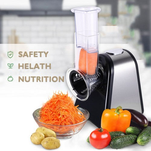 Best Electric Cheese Graters 9. Homedox Salad Maker Professional Electric Slicer Shredder