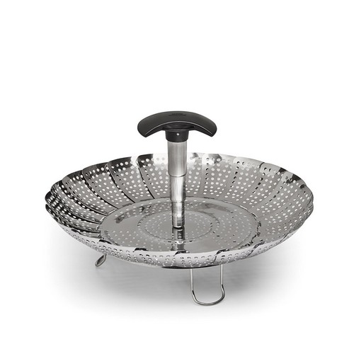 Best Vegetable Steamer Baskets 3. OXO Good Grips Stainless Steel Steamer with Extendable Handle