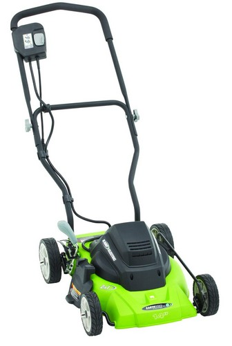 Best Corded Electric Lawn Mowers 5. Earthwise 50214 14-Inch 8-Amp Side Discharge/Mulching Corded Electric Lawn Mower