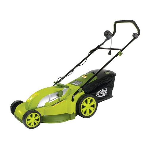 Best Corded Electric Lawn Mowers 4. Snow Joe Sun Joe MJ403E Mow Joe 17-Inch 13-Amp Electric Lawn Mower/Mulcher