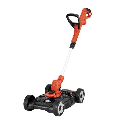 Best Corded Electric Lawn Mowers 2. BLACK+DECKER MTE912 12-Inch Electric 3-in-1 Trimmer/Edger and Mower, 6.5-