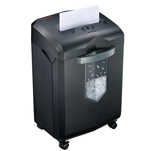 Best Commercial Paper Shredders 4. Bonsaii EverShred C149-C 18-Sheet Heavy Duty Cross-Cut Paper/CD/Credit Card Shredder with 6 Gallon Pullout Basket and 4 Casters, 60 Minutes Running Time, Black