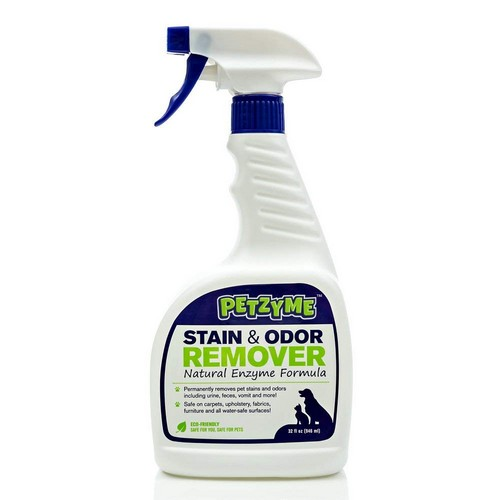 Best Enzyme Cleaners For Cat Urine 6. Petzyme Pet Stain Remover & Odor Eliminator