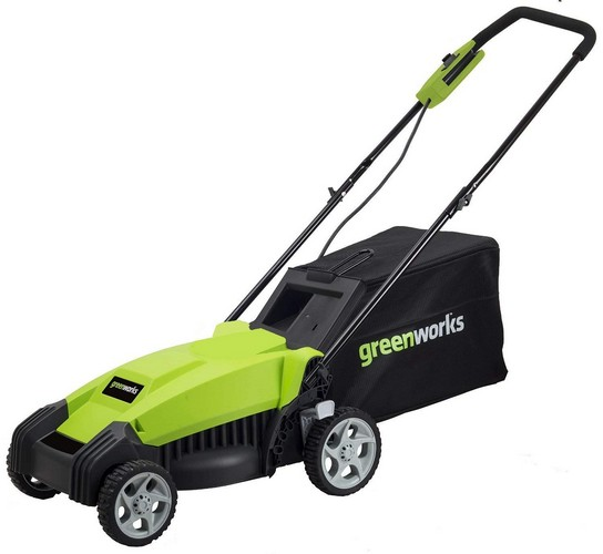 Best Corded Electric Lawn Mowers 8. Greenworks 14-Inch 9 Amp Corded Lawn Mower MO14B00