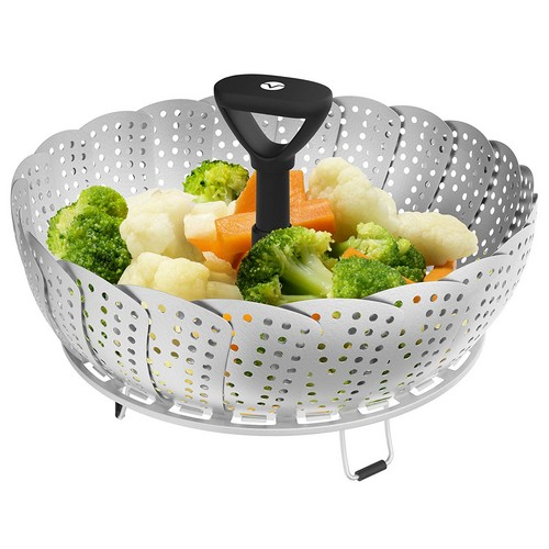 Top 10 Best Vegetable Steamer Baskets in 2019 Reviews