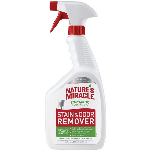 Best Pet Odor and Stain Removers 4. Nature's Miracle Dog Stain and Odor Remover