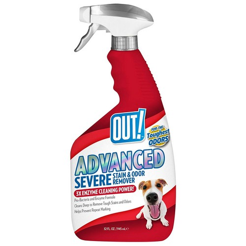 Best Pet Odor and Stain Removers 9. OUT! Advanced Severe Stain & Odor Remover