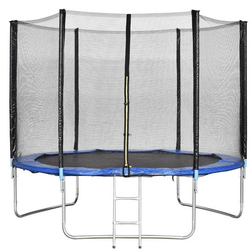 Best Trampolines To Buy 3. Giantex Trampoline Combo Bounce Jump Safety Enclosure Net W/Spring Pad Ladder