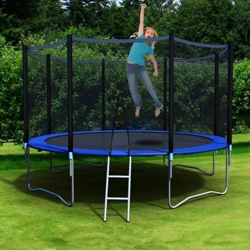 Best Trampolines To Buy 8. Nexttechnology 10-Feet Round Trampoline